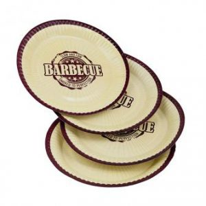 "Pappteller ""Barbecue-Party"" 8er Pack"