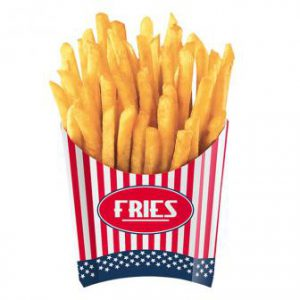 "Snack-Boxen ""USA"" 4er Pack"