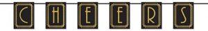 """Buchstaben-Girlande """"Golden 20ies"""" 1,83 m"""