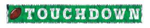 """Fransen-Girlande """"Touchdown"""" 152 cm"""