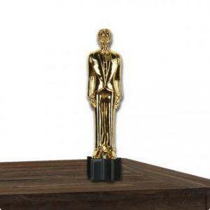 Goldener Award Ruhmreicher Gewinner