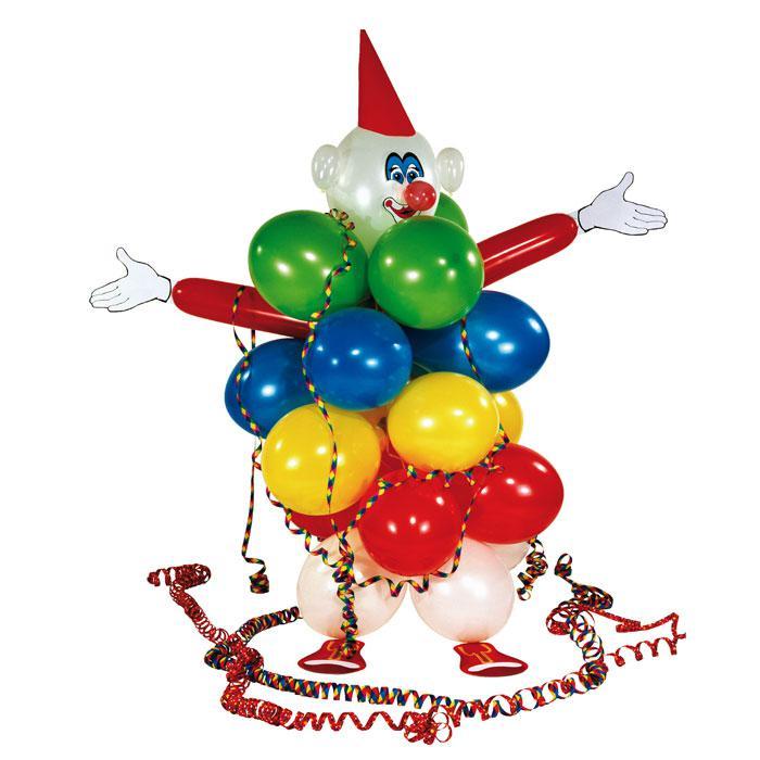 Der fasching wird bunt - Luftballon deko ...