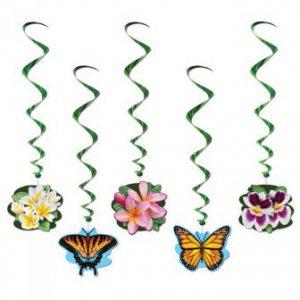 Wirbel-Deckenhänger Blumengarten 5-tlg. 102 cm