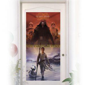 """Türdeko """"Star Wars 7"""" 150 x 75 cm"""
