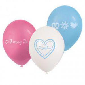 """Luftballons """"Oktoberfest Gaudi"""" 6er Pack"""