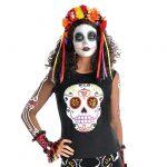 "Langarm-Shirt ""Dia de los Muertos"""