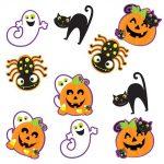 """Mini-Ausschnitte """"Buntes Halloween"""" 10-tlg."""