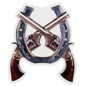 "Wanddeko ""Wild Cowboy"" 47 cm"