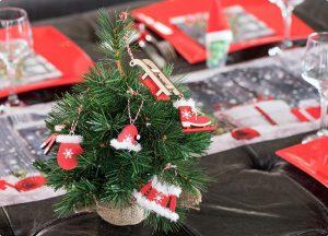 """Deko-Anhänger aus Holz """"Fröhliche Weihnacht"""" 6-tlg."""