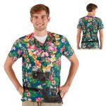 """Fotorealistisches Shirt """"Tourist"""""""