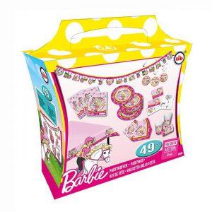"""Partypaket """"Barbie im Pferdeglück"""" 49-tlg."""