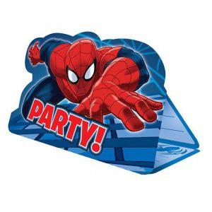 Einladungskarten Spider Man