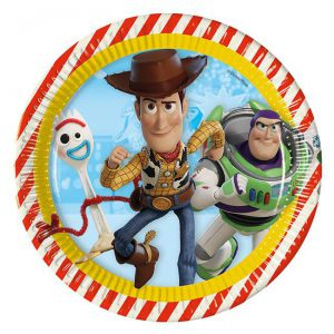 Pappteller Toy Story 4