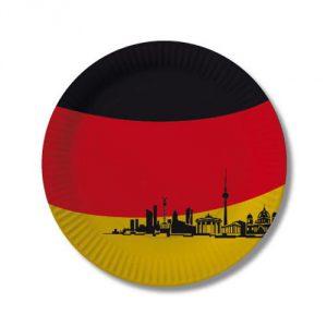 "Pappteller ""Deutschland - Berlin"" 10er Pack"