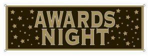 "Banner ""Awards Night"" 1,5 m"