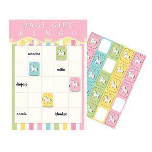 "Party-Spiel ""Zauberhaftes Karussell"" Bingo 10er Pack"