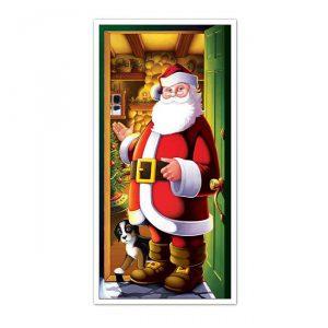 Türdeko Weihnachtsmann