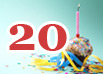 20. Geburtstag