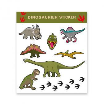 """Aufkleber """"Dinosaurierleben"""" 8-tlg."""