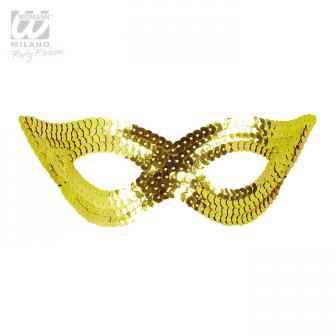 """Augenmaske mit Pailletten """"Glamour""""-gold"""