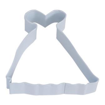 "Ausstecher ""Edles Kleid"" 10 cm"