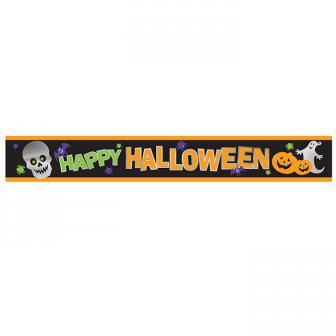 """Banner """"Happy Halloween"""" 2,7 m"""
