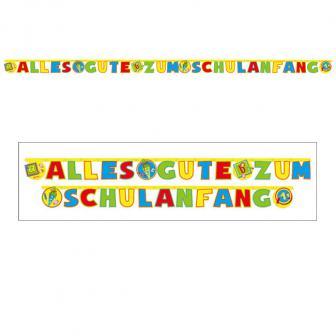 """Buchstaben-Girlande """"Erster Schultag"""" 4 m"""