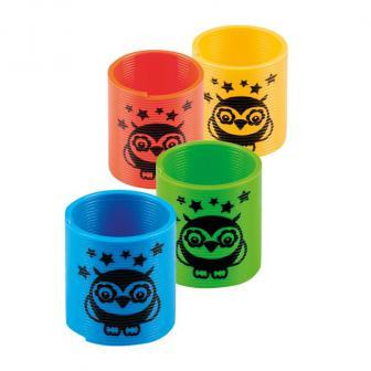 Bunte Slinkies 4er Pack