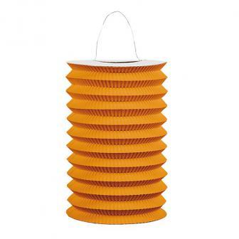 """Einfarbige Laterne """"Farbenrausch"""" 25 cm-orange"""