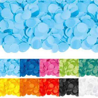 Einfarbiges Papier-Konfetti 100 gr