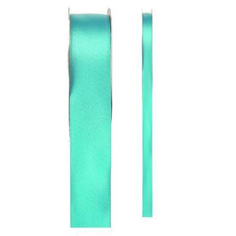 Einfarbiges Satin Deko-Band-mint-grün-3 mm