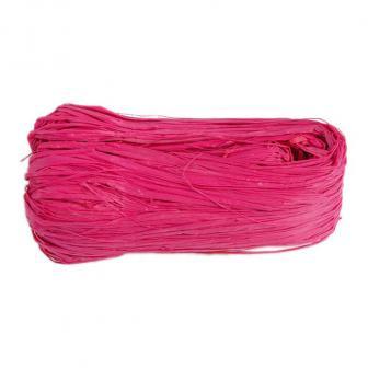 Farbiger Naturbast 50g-pink