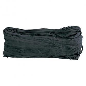 Farbiger Naturbast 50g-schwarz