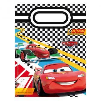 """Geschenk-Tütchen """"Rasante Cars"""" 6er Pack"""