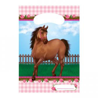 "Geschenk-Tütchen ""Süße Pferde"" 6er Pack"