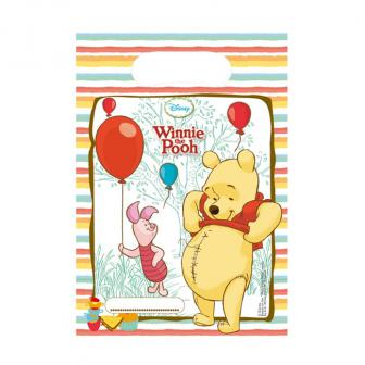 """Geschenk-Tütchen """"Winnie Puuh und Freunde"""" 6er Pack"""