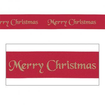 """Geschenkband """"Frohes Weihnachtsfest"""" 1 m"""