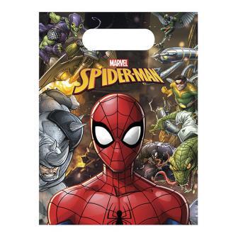 """Geschenktütchen """"Spiderman"""" 6er Pack"""