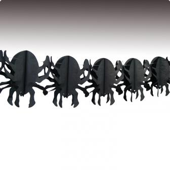 Girlande Große Spinne 4 m