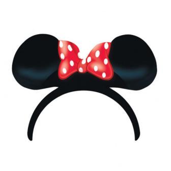 Kinder-Haarreif Disney Minnie Maus 4er Pack