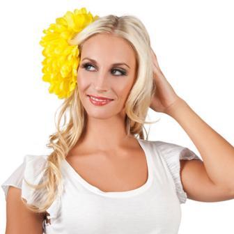 """Haarschmuck """"Blütenpracht""""-gelb"""