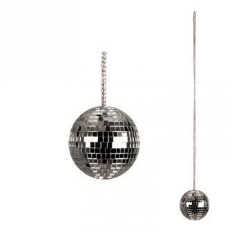 Halskette mit Discokugel 48cm