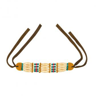 """Halskette """"Ehrfürchtige Indianerin"""""""