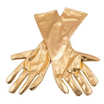 """Handschuhe """"Edler Glanz"""" 40 cm-gold"""