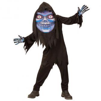 """Kinder-Kostüm """"Skelett"""" mit Riesenmaske 2-tlg."""