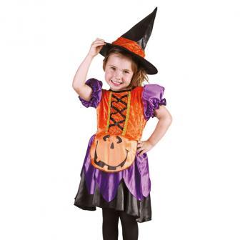 """Kinder-Kostüm """"Kürbis-Hexe"""" 2-tlg."""