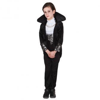 """Kinder-Kostüm """"Vampir-Meister"""" 4-tlg."""