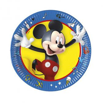 Kleine Pappteller Micky Maus & Friends 19,5 cm 8er Pack