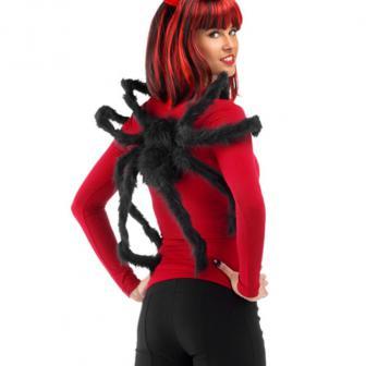 """Kostüm Accessoire """"Schaurige Spinne"""" 60 cm"""