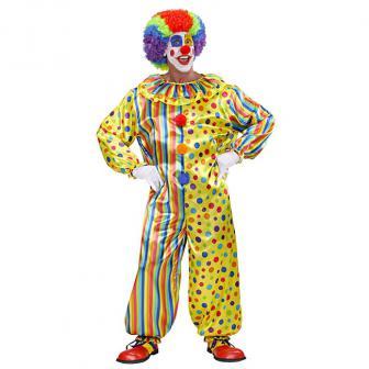 "Kostüm ""Farbenfroher Clown"""